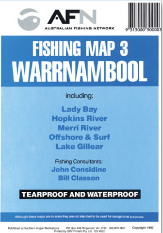 Warrnambool Fishing Map 3 AFN